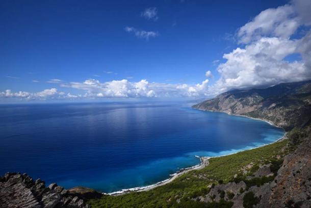Coast of Crete. (Stefan Kunze / Public Domain)