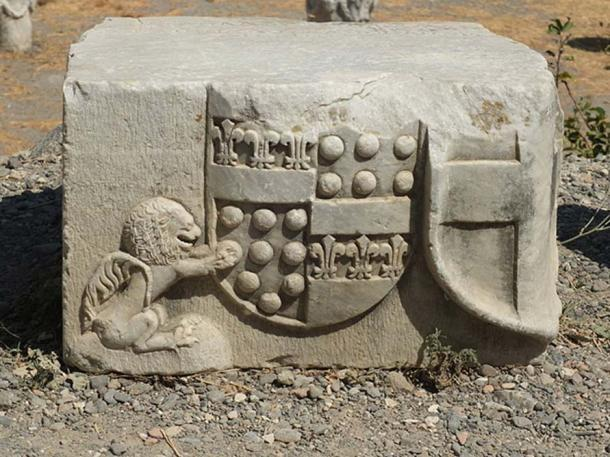 Coat of arms in the Castle of the Knights of Saint John on Kos. (Ad Meskens/CC BY SA 3.0)