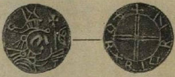 Coin cited as similar to the Maine Penny.