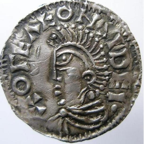 Coin minted for King Olof in Sigtuna