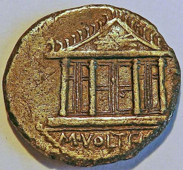 Coin of 78 BC, during the building of the 2nd temple. (Hermann Junghans / CC BY-SA 3.0)