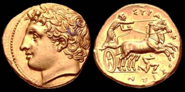 Coin of Agathocles of Syracuse. (Stella / CC BY-SA 4.0)