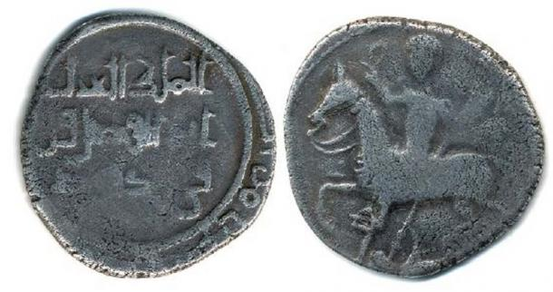 Coin of Kvirike III, arabographycal type without Georgian letters