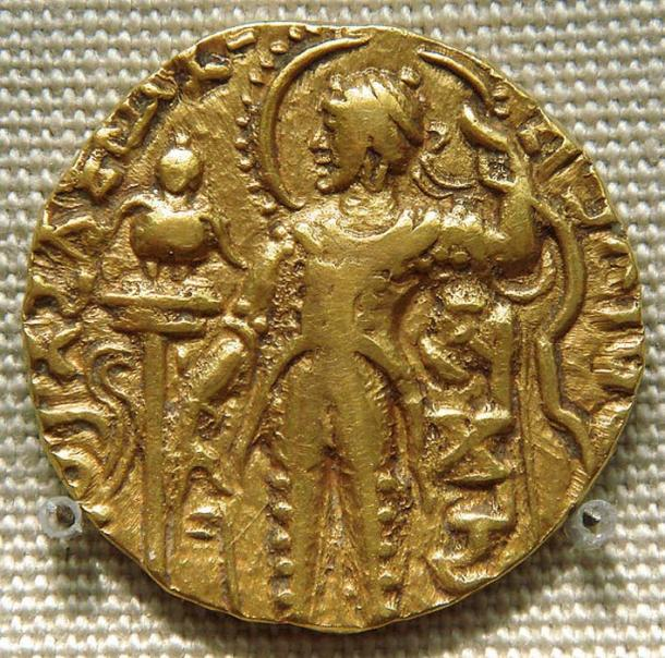 Coin of the Gupta king Samudragupta. (PHGCOM/CC BY SA 3.0)