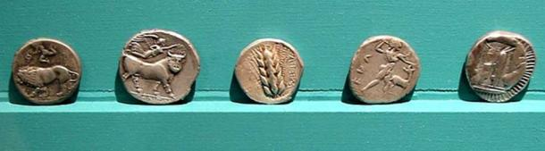 Coins from Magna Graecia.