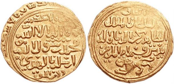 Coins from the Mamluk Sultan Baibars' reign