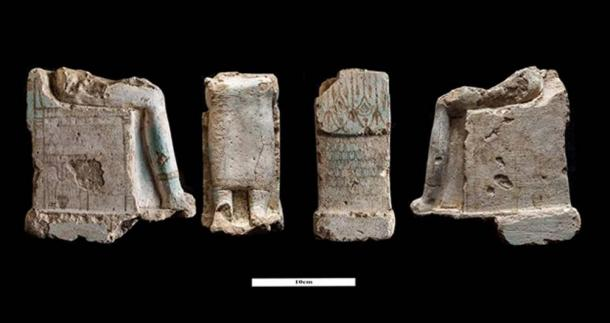 Collection of pottery found at the shrine site. (Image: Ministry of Antiquities)