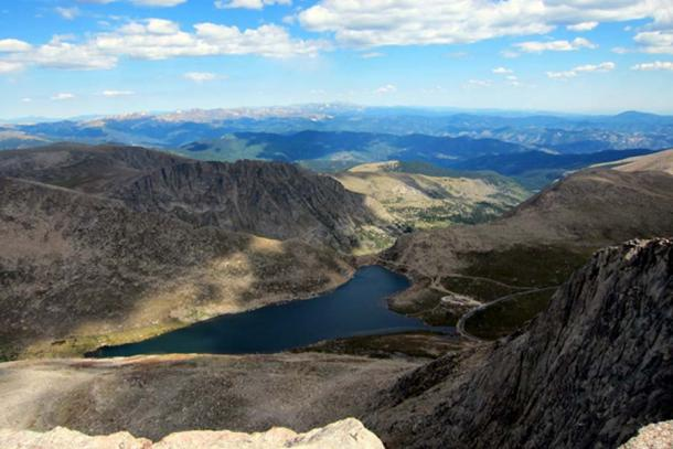Colorado - Mount Evans: View from summit. (Wally Gobetz/CC BY NC ND 2.0)