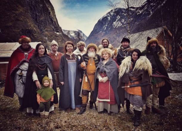 Colorful Vikings: It is known that Vikings did wear colorful clothing of wool, hemp and nettle – but what kind of underwear did they use?