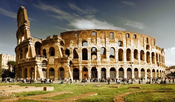 Rome's Colosseum.