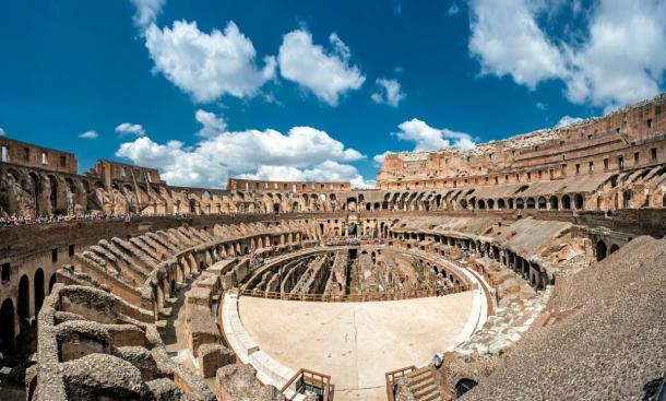 The Colosseum in Rome once sported 28 lifts for raising animals into the grand arena.