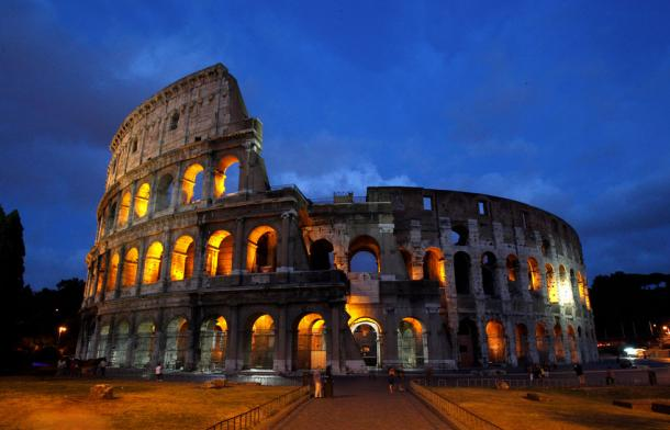 Colosseum, Rome. The idea of Rome as The Eternal City has long struck a chord.