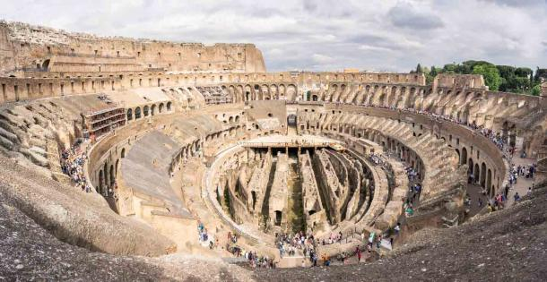 The Colosseum floor and lower chamber area as it looks today. The high-tech Colosseum project will really change everything! (Barbara / Adobe Stock)