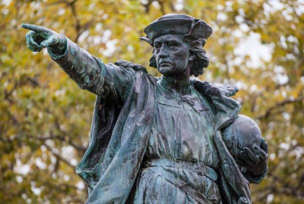 Which ancient explorers reached North America before Columbus?