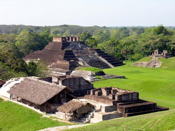 Comalcalco archaeological site, Tabasco, Mexico.