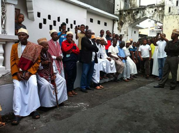Comoros, Funi Aziri Bangwe        Source: Photo by World Monument Fund