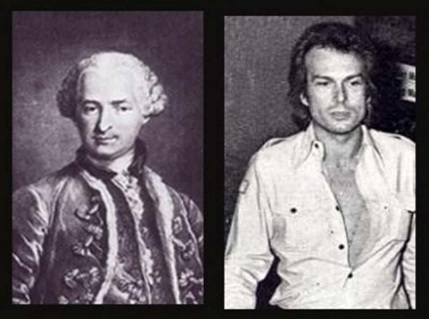 Comte de Saint-Germain & Richard Chanfray, the main who claimed to be the Count in the 1970s.