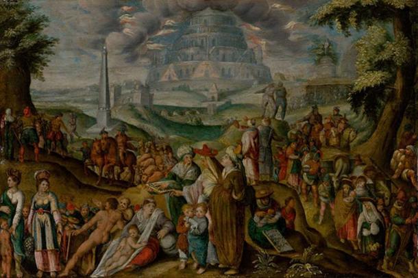 'The Confusion of Tongues' (1620) by Karel van Mander I. Source: Public Domain