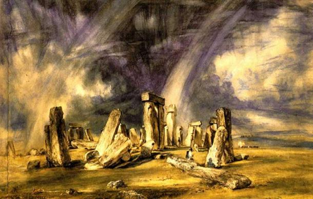 Constable's portrayal of Stonehenge. Source: Public Domain