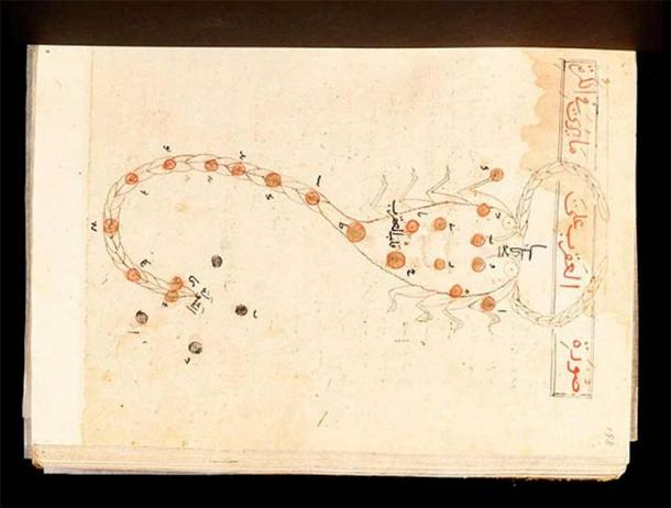 Constellation detail from the Book of Fixed Stars (Metropolitan Museum of Art / Public Domain)