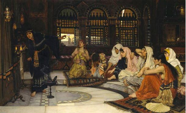 Consulting the Oracle, John William Waterhouse, 1884.