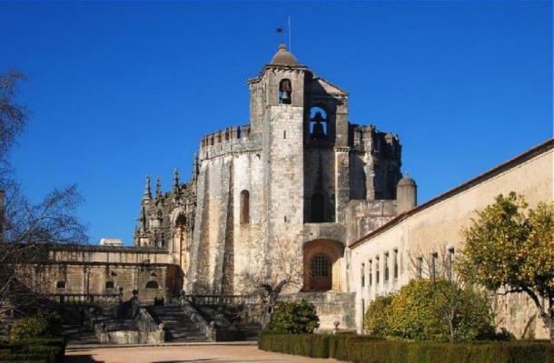 Convent of Christ, Tomar, Portugal. Church. (Alvegaspar/CC BY SA 3.0)