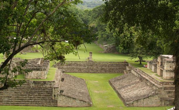 Archaeologists turned to the archaeological site of Copan in Honduras, pictured, for clues