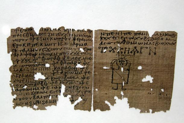 Coptic codex with magic spells – fifth to sixth century AD. Museo Archeologico, Milan. (CC BY-SA 3.0)