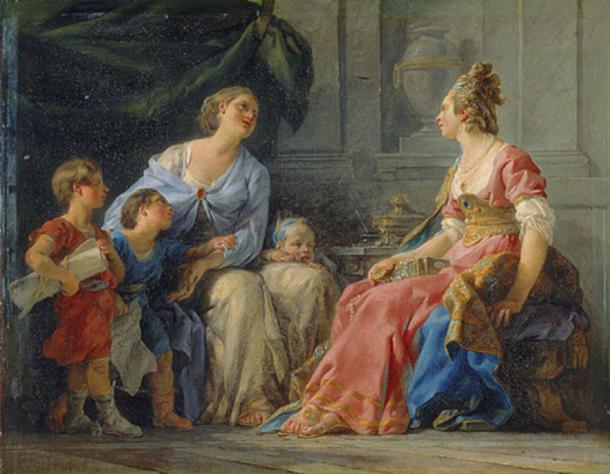 Cornelia Africana, Mother of The Gracchi (1779)