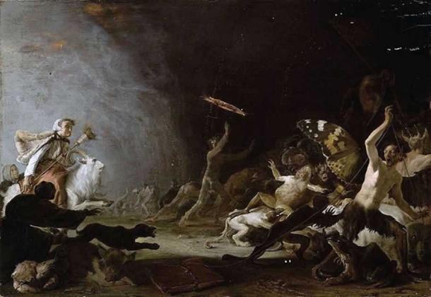 Cornelis Saftleven, The Witches' Sabbath, c. 1650