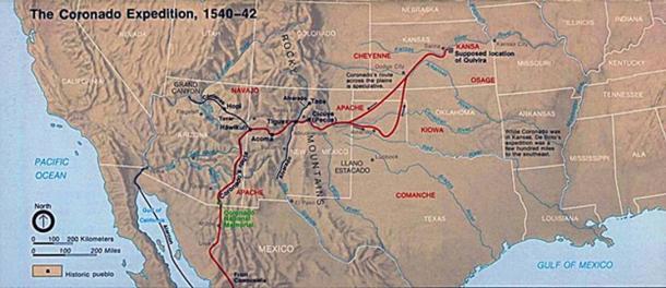The Coronado Expedition 1540–1542.