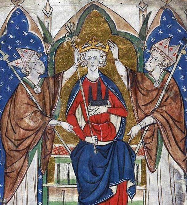 Coronation of King Henry III.
