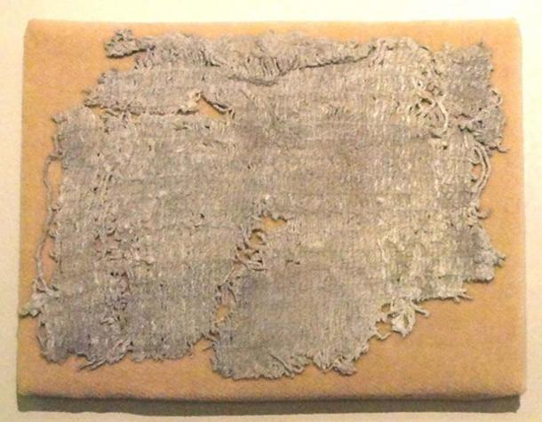 Cotton cloth fragment from Huaca Prieta, 2500 BC - American Museum of Natural History, New York, USA.
