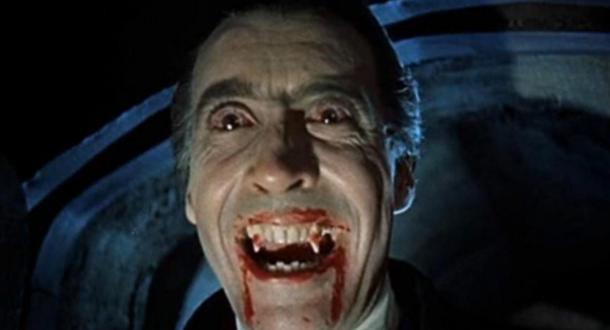 Christopher Lee portrayed Count Dracula in the celebrated Hammer Horror series of films, starting with Dracula in 1958.