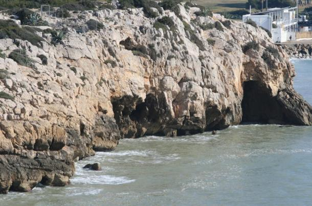 The Cova del Gegant in Sitges
