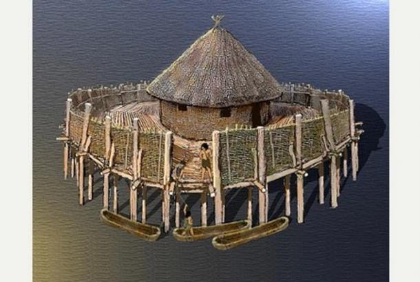 Prehistoric Fortress Island