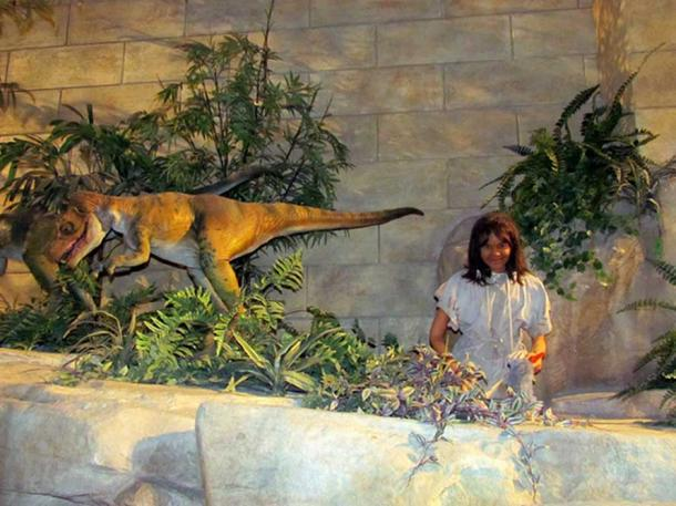 Display at the Creation Museum in Petersburg, Kentucky, USA.