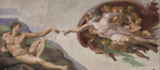 The Creation of Adam (1511), Michelangelo