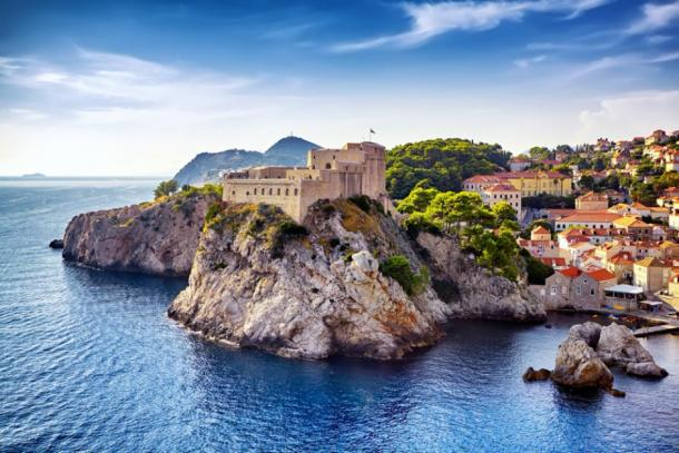 Now part of Croatia, Ragusa (modern day Dubrovnik) was in the Venetian Republic when it invented the 40-day quarantine to try to keep the plague out. (igorp1976 / Adobe stock)