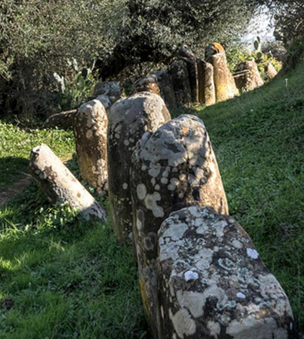 The Cromlech of Msoura or Mzora. Photo by Christophe Chenevier.