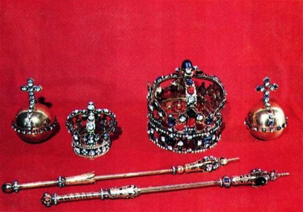 Crown Regalia of King Augustus and Maria Josepha.