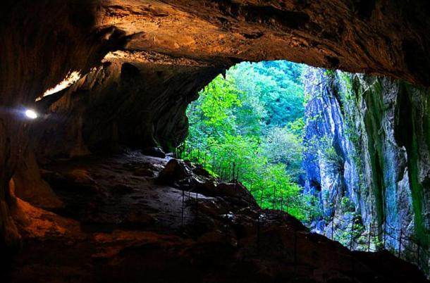 Entrance of the Cueva de las Brujas de Zugarramurdi – Zugarramurdi Witches' Cave