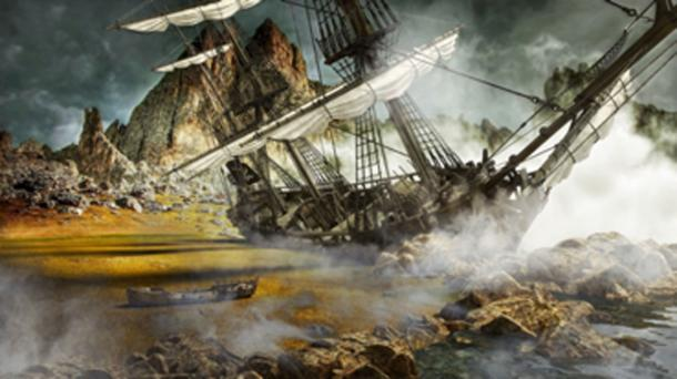 Culliford and his teamed captured an armored vessel known as The Great Mohammad, which resulted in the demise of his matelotage with Culliford. (storm / Adobe Stock)