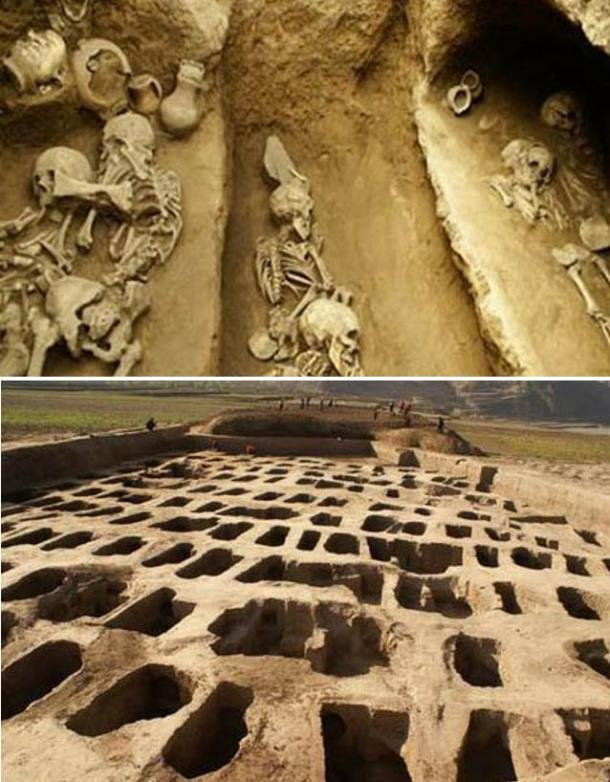 Cultural deposits and remains from Middle & late Yangshao period, Majiayao, Qijia and Shiwa Cultures have been found.