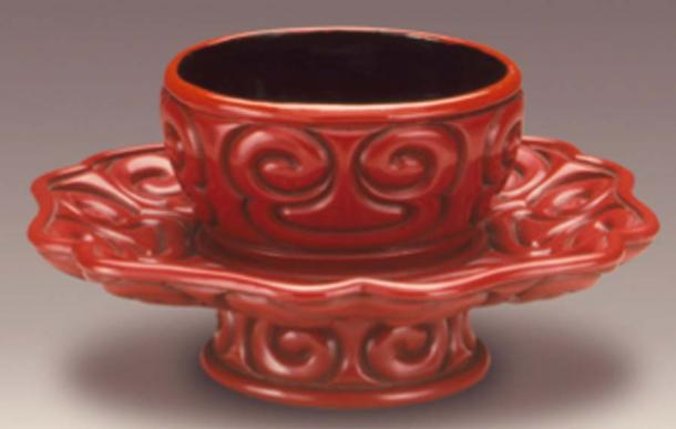Cup from the early Ming dynasty, representation of artifact found at the medieval distillery. (Fæ / Public Domain)