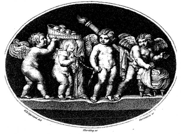 Cupid And Psyche: A Mythological Tale, From The Golden Ass Of Apuleiu
