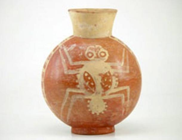 Cupisnique artistic motifs carried symbols such as the Spider