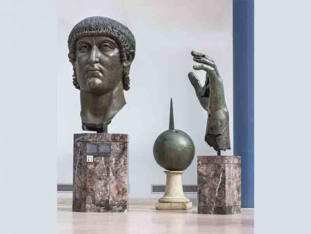 """Curators reattached the sculpture's missing bronze digit using a """"non-invasive, reversible and invisible system."""" (Zeno Colantoni / Capitoline Museums)"""