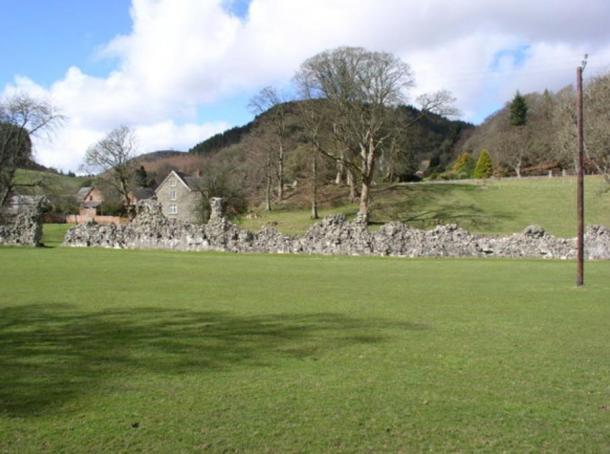Cwmhir Abbey.