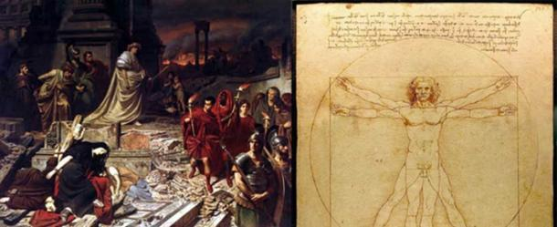 Cycles of rising and falling: The burning of Rome, and the rebirth of knowledge. (Public Domain)
